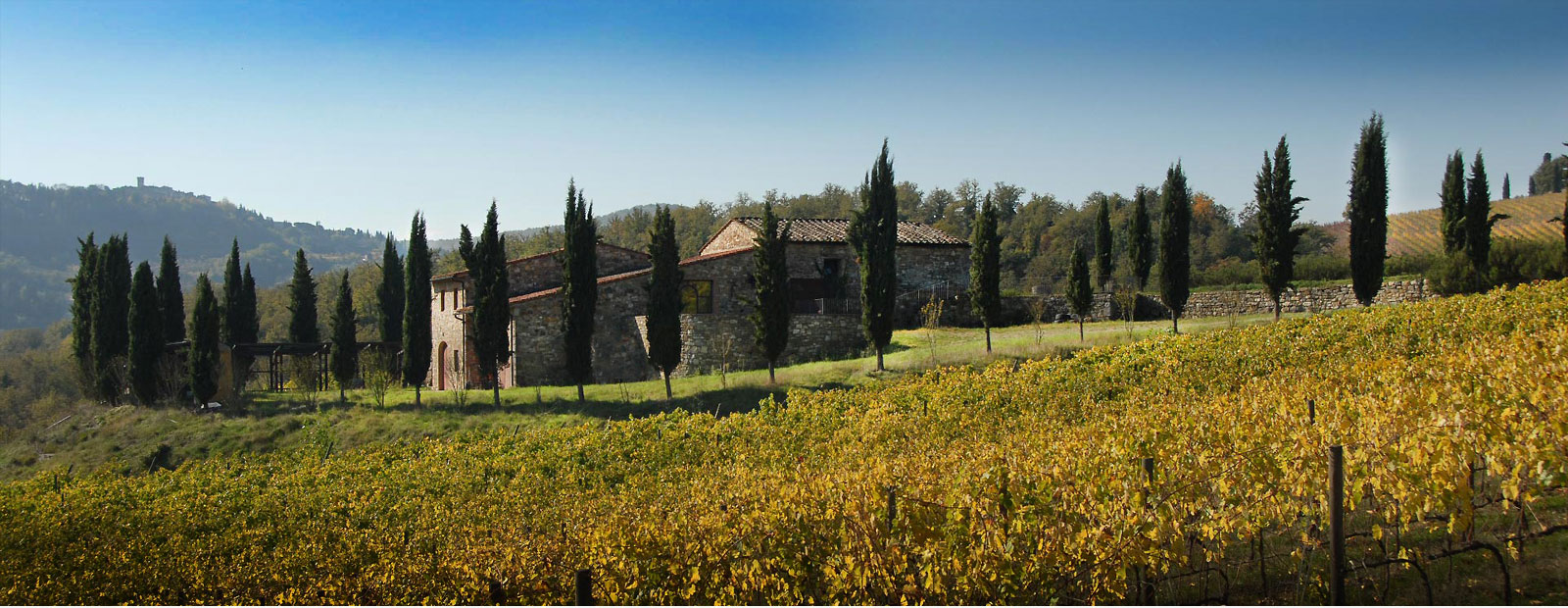 Farmhouse in the Chianti Tuscany
